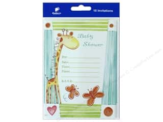 novelties: Gallant Greetings Baby Shower Invitation 1 10 ct