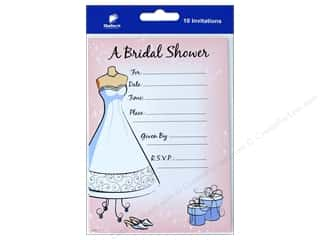 novelties: Gallant Greetings Wedding Shower Invitation 1 10 ct