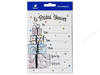 novelties: Gallant Greetings Wedding Shower Invitation 4 10 ct