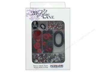 resin: Buttons Galore 28 Lilac Lane Embellishment Kit Pirates Life