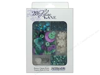 craft & hobbies: Buttons Galore 28 Lilac Lane Embellishment Kit Sew Crafty