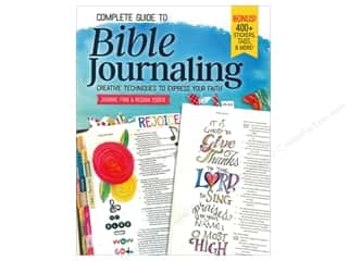 books & patterns: Design Originals Complete Guide To Bible Journaling Book