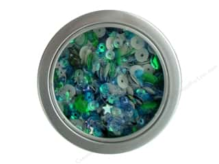 craft & hobbies: Buttons Galore 28 Lilac Lane Sequin Tin Party Time