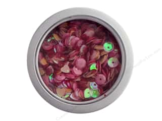 craft & hobbies: Buttons Galore 28 Lilac Lane Sequin Tin My Valentine