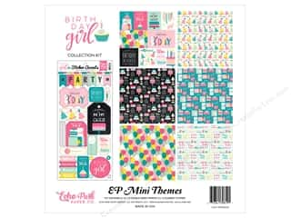 "stickers: Echo Park Collection Birthday Girl Collection Kit 12""x 12"""