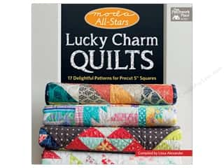 Moda All-Stars - Lucky Charm Quilts: 17 Delightful Patterns for Precut 5 in. Squares Book by Lissa Alexander