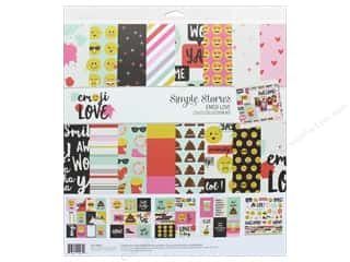 "Simple Stories Collection Emoji Love Collection Kit 12""x 12"""