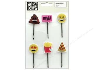 Simple Stories Collection Emoji Love Carpe Diem Decorative Clips