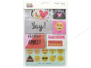 die cuts: Simple Stories Collection Emoji Love Snap Pack