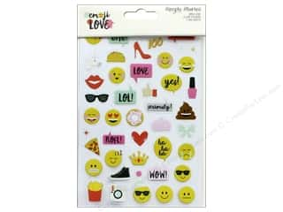 Simple Stories: Simple Stories Collection Emoji Love Sticker Clear