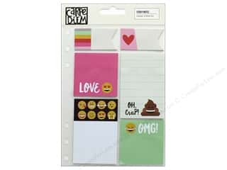 scrapbooking & paper crafts: Simple Stories Collection Emoji Love Carpe Diem Sticky Notes