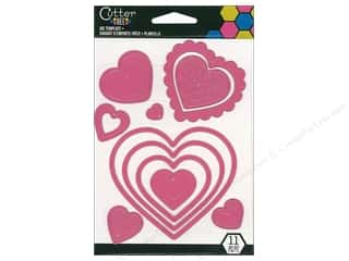 scrapbooking & paper crafts: EK Cutter Bee Cutting Dies Hearts