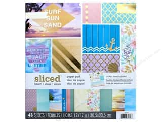 """scrapbooking & paper crafts: Paper House Paper Pad 12"""" Sliced Beach"""