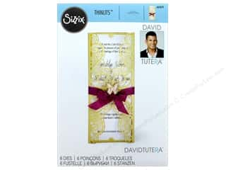 dies: Sizzix Dies David Tutera Thinlits Invitation Wrapper