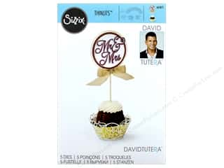 Sizzix Dies David Tutera Thinlits Cupcake Wrapper & Toppers
