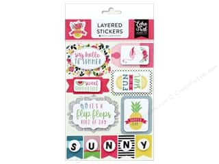 Summer Fun: Echo Park Collection Summer Fun Sticker Layered