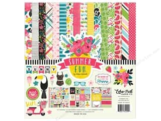"Echo Park Collection Summer Fun Collection Kit 12""x 12"""