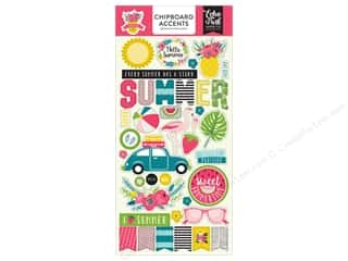 "Summer Fun: Echo Park Collection Summer Fun Chipboard 6""x 12"""