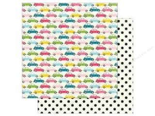 "Summer Fun: Echo Park Collection Summer Fun Paper 12""x 12"" Summer Road Trip (25 pieces)"