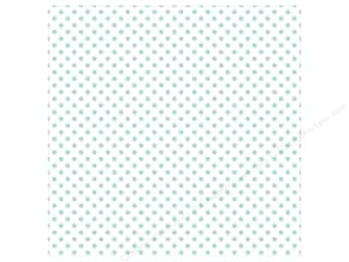 "Echo Park Collection Dots & Stripes Pastel Vellum 12""x 12"" Blue Eggs"