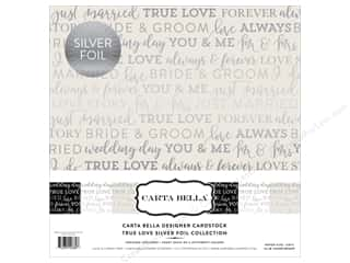 "scrapbooking & paper crafts: Carta Bella Collection Love Collection Kit 12""x 12"" Foil"