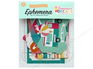 die cuts: Echo Park Collection Summer Dreams Ephemera