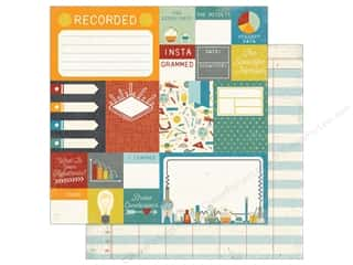 """Echo Park Collection Science Fair Paper 12""""x 12"""" Journaling Cards (15 pieces)"""