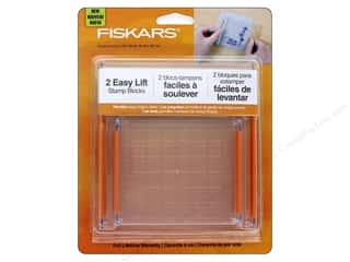 acrylic block: Fiskars Easy Lift Stamp Blocks 2 pc.