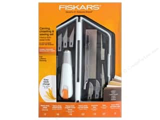 craft knife: Fiskars Carving, Chiseling & Sawing Set