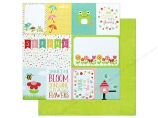 "Echo Park Collection Celebrate Spring Paper 12""x 12"" Journaling Cards"