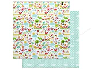 "Echo Park Collection Celebrate Spring Paper 12""x 12"" April Showers"