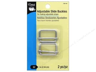 Dritz Adjustable Slide Buckles 1 in. 2 pc. Nickel