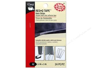 glues, adhesives & tapes: Dritz Res-Q-Tape Hem Strips 24 pc.