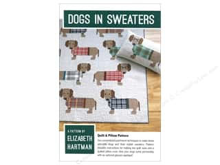 Elizabeth Hartman Dogs In Sweaters Pattern