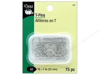 storage : Dritz T-Pins Size 16 75 pc.