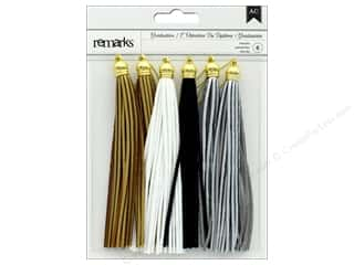 twine: American Crafts Embellishment Tassel Graduation Neutral