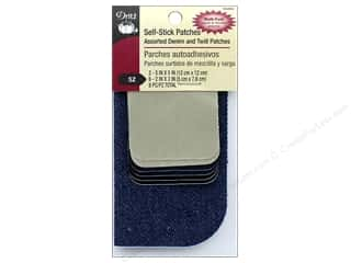 Dritz Self-Stick Patches 8 pc. Assorted Denim & Twill