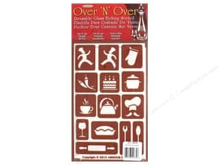 craft & hobbies: Armour Over 'N' Over Stencil What's Cooking