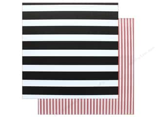 "scrapbooking & paper crafts: American Crafts Paper 12""x 12"" Striped (12 pieces)"