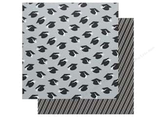 "American Crafts Paper 12""x 12"" Grad Caps (12 pieces)"