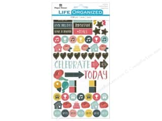 scrapbooking & paper crafts: Paper House Collection Life Organized Sticker Family
