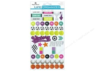 Paper House Collection Life Organized Sticker Sports For Girls