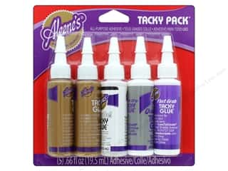 Aleene's Tacky Pack 5 pc. Clear Gel/Quick Dry/Original/Fast Grab