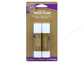 glues, adhesives & tapes: Aleene's Original Tacky Glue Sticks 2 pc.