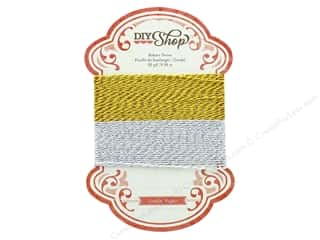 ribbon: Crate Paper Embellishments DIY Shop Baker Twine Metallic
