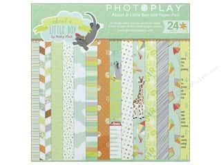 """Photo Play Collection About A Little Boy Paper Pad 6""""x 6"""""""