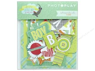 die cuts: Photo Play Collection About A Little Boy Ephemera Die Cuts