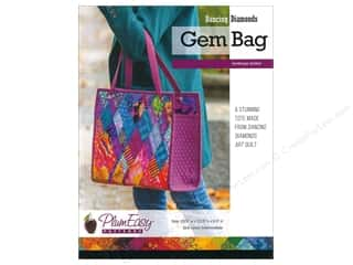 books & patterns: PlumEasy Dancing Diamonds Gem Bag Pattern