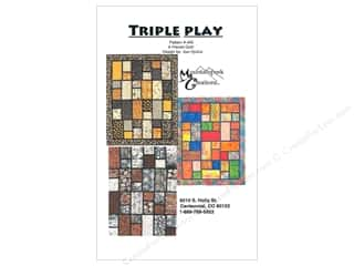 books & patterns: Mountainpeek Creations Triple Play Pattern
