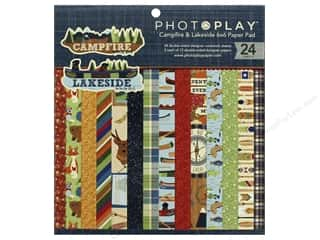 """Photo Play Collection Campfire Lakeside Combo Paper Pad 6""""x 6"""""""